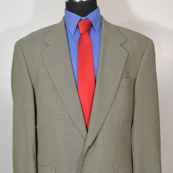 Hugo Boss Other - Hugo Boss 40R Sport Coat Blazer Suit Jacket